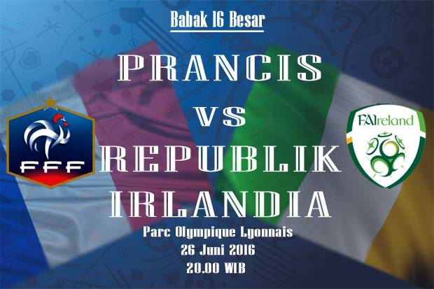 Preview Prancis vs Republik Irlandia: Menghapus Catatan Merah