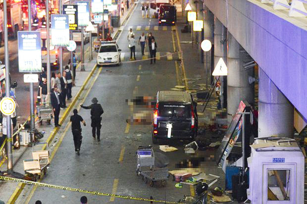 Istanbul Ataturk Airport Attacked Three Suicide Bombs
