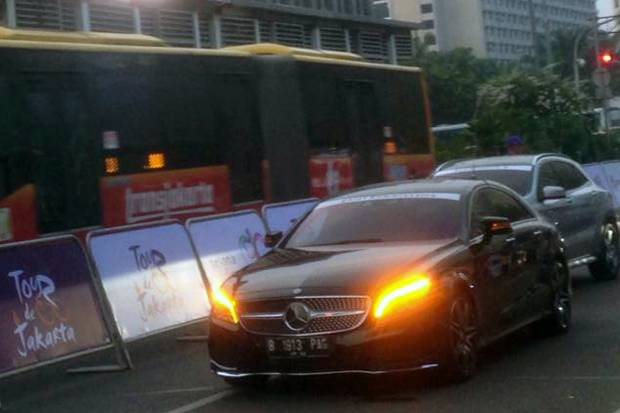 Mercedes-Benz Official Car Tour de Jakarta 2016