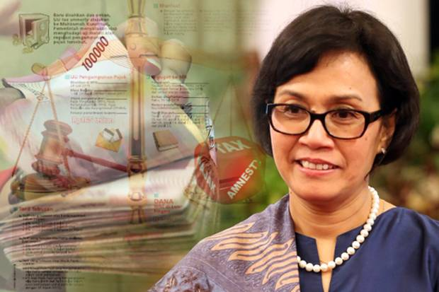 Image result for tax amnesty sri mulyani