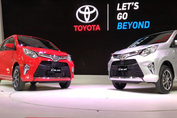 Toyota Andalkan All New Calya di GIIAS 2016