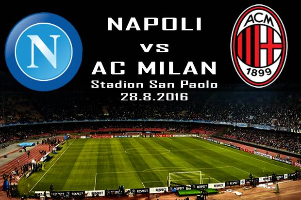 Preview Napoli vs AC Milan: Catatan Buruk Hantui Tim Tamu