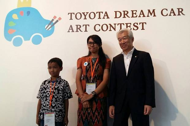 Anak Indonesia Raih Silver Award di Toyota Dream Car Art Contest