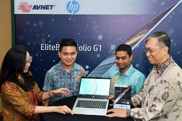 Avnet Distributor Eksklusif Notebook Terkecil HP EliteBook Folio G1