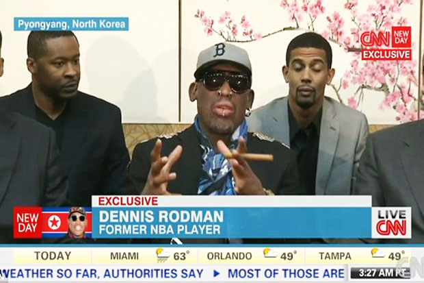 Just Married, Dennis Rodman with Kim Jong-un Sister