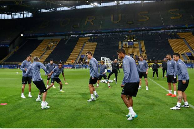 Susunan Pemain Borussia Dortmund vs Real Madrid