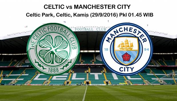 Preview Celtic vs Manchester City: Berburu Rekor Lawas
