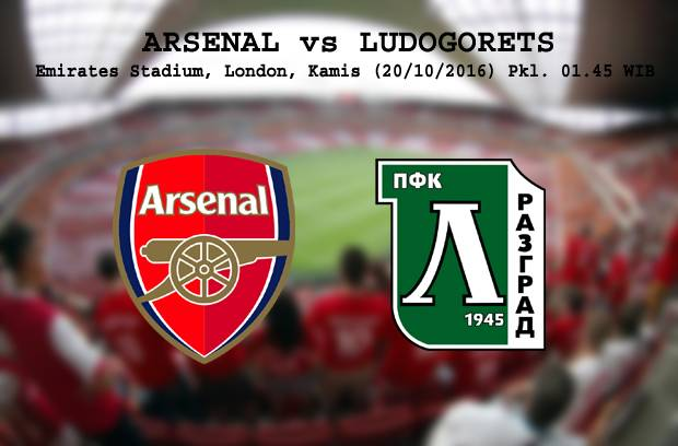 Preview Arsenal vs Ludogorets: Menjaga Rekor Kandang