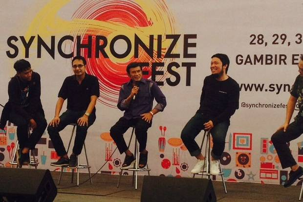 Rhoma Irama Janjikan The Best Performance di Synchronize Fest