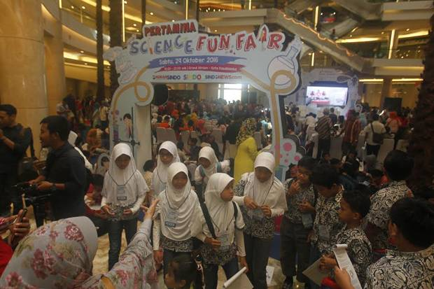 Pertamina Science Fun Fair 2016 Resmi Dibuka