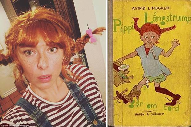 Pippi Longstocking, Karakter Anak Favorit Maria Sharapova
