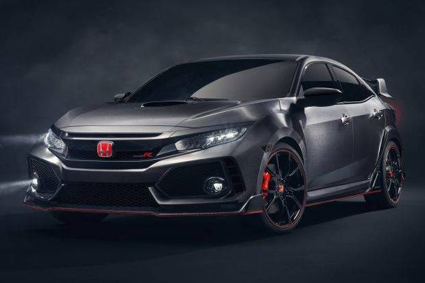 All New Honda Civic Type R Prototype Tampil di Ajang SEMA 2016