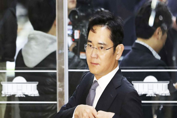 Samsung Chief Suspect at South Korea Scandal