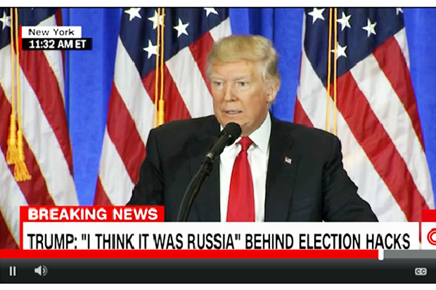 Trump: Russia Behind Hacking Ahead of The Election