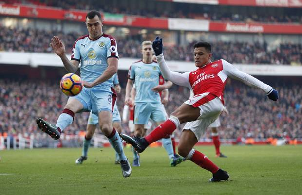 Babak I: Arsenal Ditahan Imbang Burnley