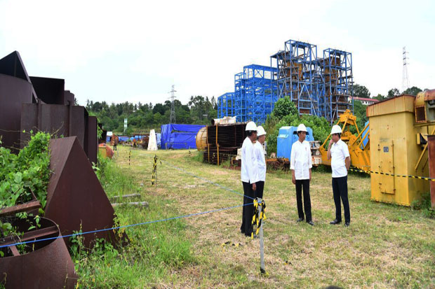 Stalled, Jokowi Said Waai Power Plant Faultly Design