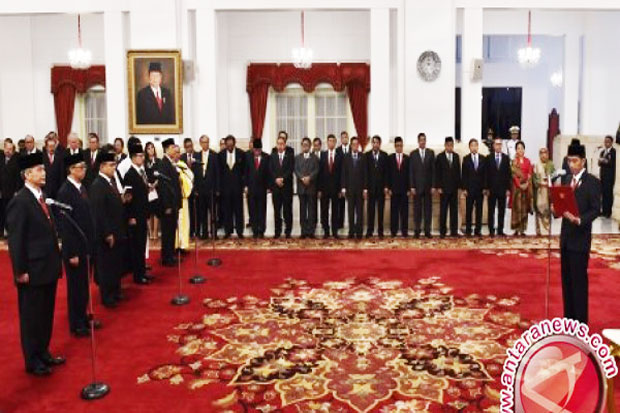 17 New Ambassador will Take Four Political Missions Jokowi Government