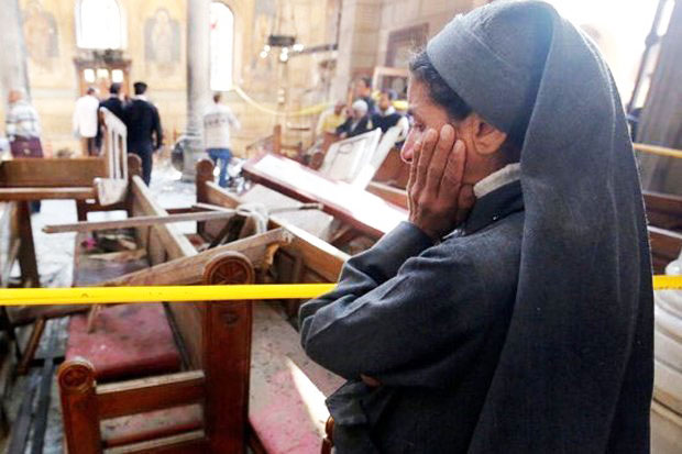 ISIS Responsibility for Coptic Church Bombings