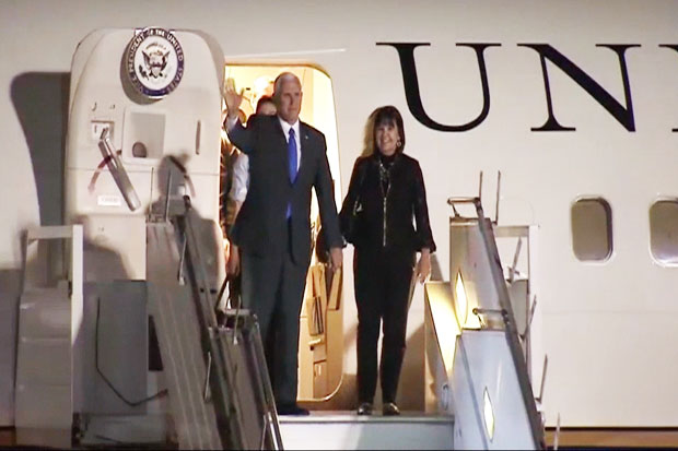 In Indonesia, Pence Sign Five MoU