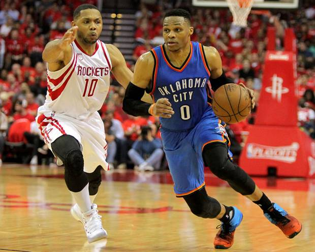 Performa Russell Westbrook Tak Mampu Bendung Laju Houston Rockets