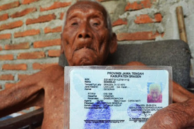 Mbah Gotho, The Oldest Human from Indonesia Dies in Aged 146