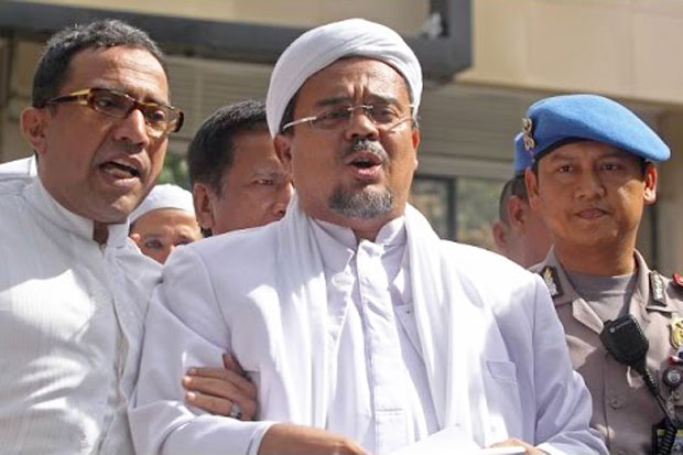 Police Warning Rizieq Shihab for Back to Indonesia