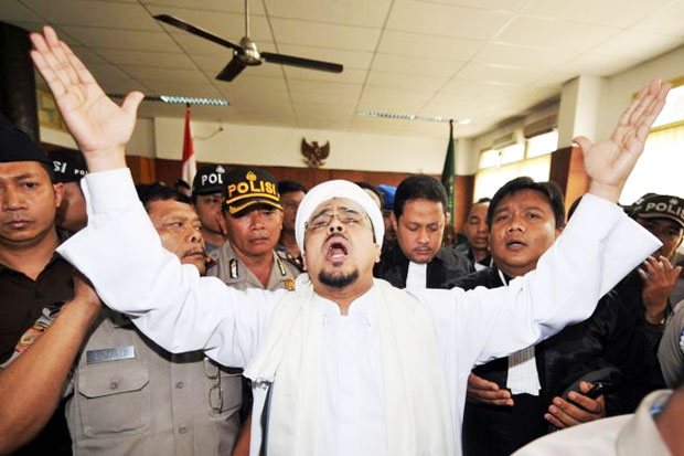 Police to Pick up, Rizieq Party Seems This is Revenge