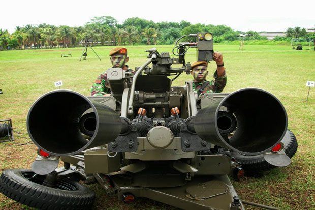 Malfunctioned Cannon, Four Indonesia Army Soldiers Killed