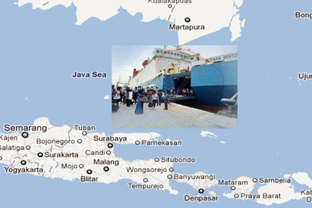 Ships Burned in Masalembo, 178 Passengers Unknown