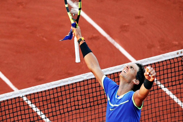 Nadal Become First for 10 Times Grand Slam Title