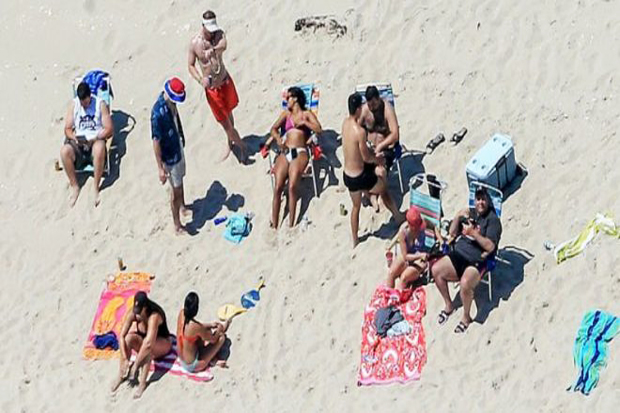 Close Beach for Public, New Jersey Governor Got This
