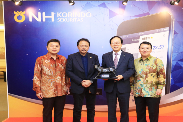 NH Korindo Securities Facilitate Mobile Transactions
