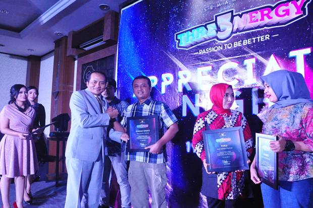 KORAN SINDO Raih Penghargaan Best Media Partner