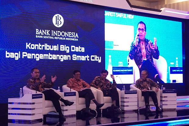 Danny Pomanto Jadi Narasumber BI, Audiens Kagumi Makassar Sombere and Smart City