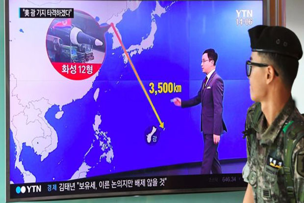 Mid-August, North Korea Plan for Missile Strike to Guam