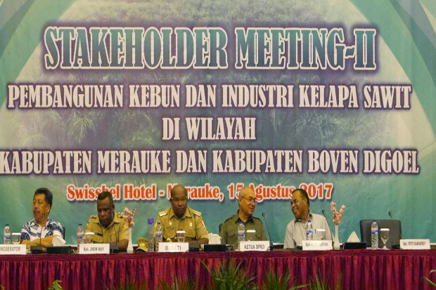 Five Points Agreement Resulted in Second Stakeholders Meeting of Papua Oil Palm Industry