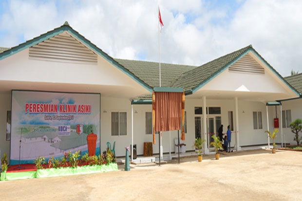 Wow..Theres Complete Facilities Clinic in Central of Papua Forest