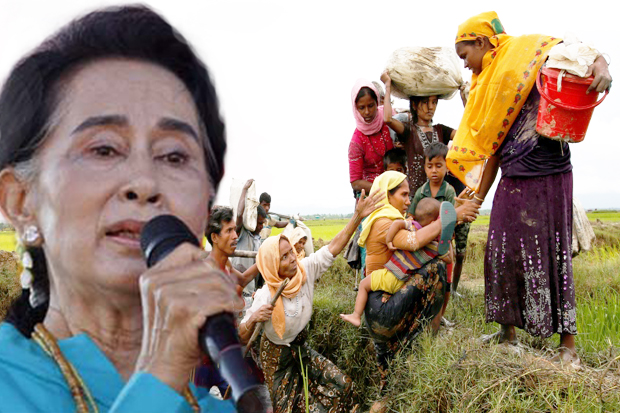 Suu Kyi Says Terrorists Are Misinforming World About Rohingya Conflict