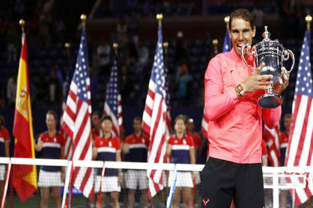 With Battle of Serves, Nadal Wins 16th Grand Slam Title