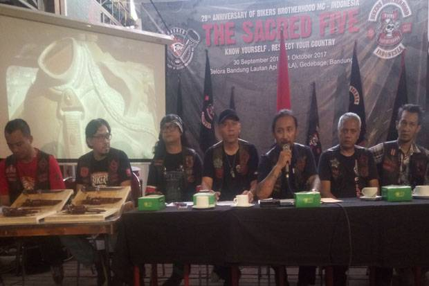 Rayakan HUT ke-29, Bikers Brotherhood Gelar The Sacred Five