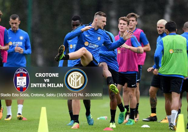 Preview Crotone vs Inter Milan: Menjaga Rekor Positif