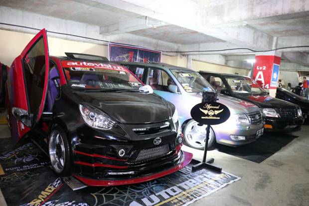 Adu Modifikasi di Ajang Daihatsu Dress-up Challenge Palembang