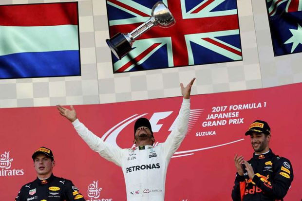 Hamilton Extends Title Lead as Vettels Challenge Misfires