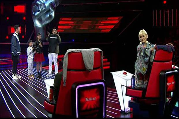 Coaches The Voice Kids Indonesia Berebut Kontestan