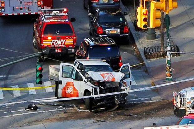 Eight Killed by Man Driving Truck in New York Attack