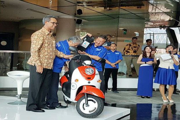 Yamaha Electric Motorcycle Presented in Indonesia