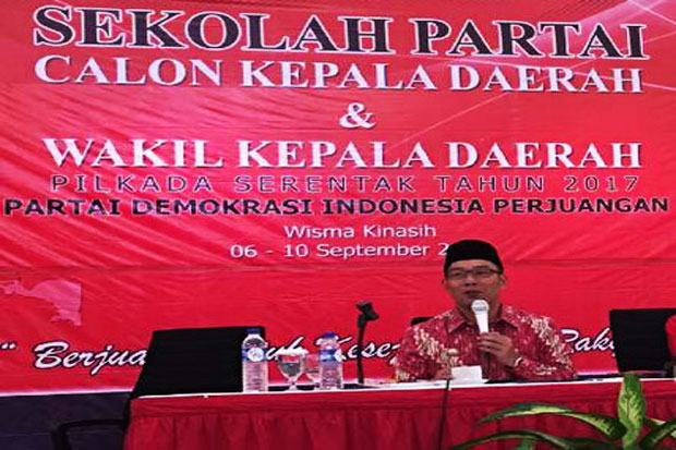 Ridwan Kamil Name Still Possible by PDI-P