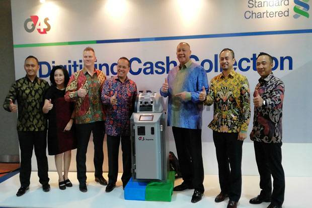 Standard Chartered - G4S Rilis Cash Collection Realtime Pertama