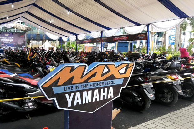 Best of The Best Nmax di CustoMAXI Regional Sumatera Utara