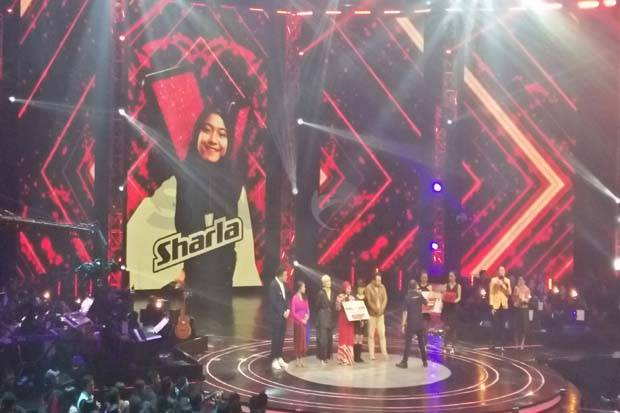 Selamat, Sharla Jadi Juara The Voice Kids Indonesia Season 2!